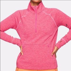 Outdoor Voices OV Fleece Half Zip Pullover size M